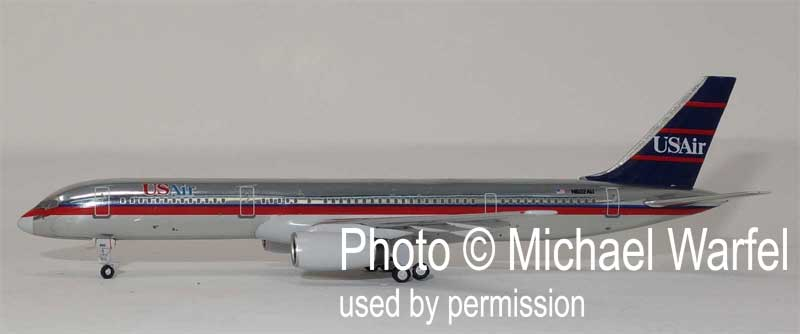 US Air 757-200 N602AU (1:400), AeroClassics Models, Item Number AC419468