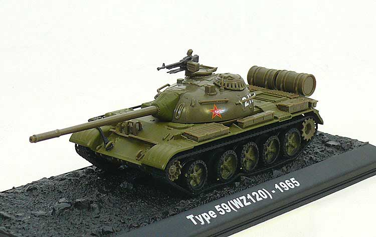 Type 59 (WZ120), Chinese People's Liberation Army, 1965 (1:72)