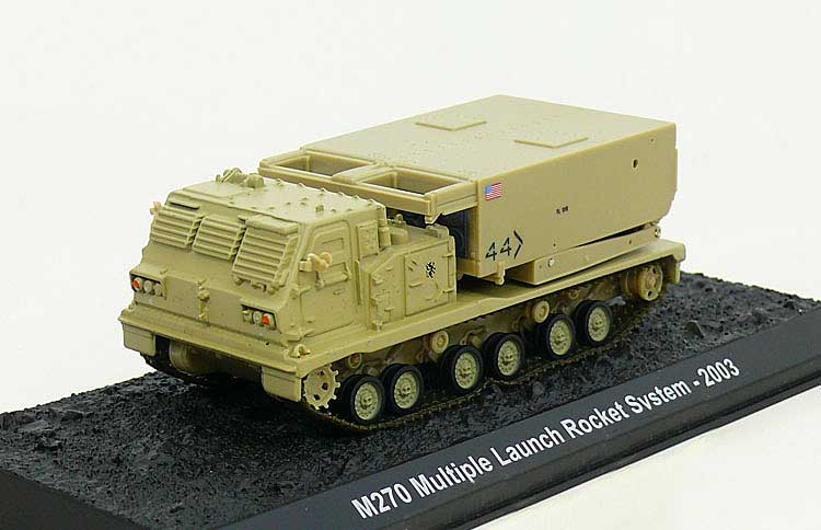 M270 MLRS (with Movable Launch System), U.S. Army, 2003 (1:72)