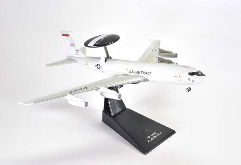 Boeing E-3B Sentry 552nd Air Control Wing, U.S. Air Force, Tinker AFB (1:200), Atlas Editions, Item Number ATL-4675-106