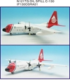 Old Spill Response C-130A Hercules (L-182) N121TG (1:200), InFlight 200 Scale Diecast Airliners Item Number IF130OSRA01