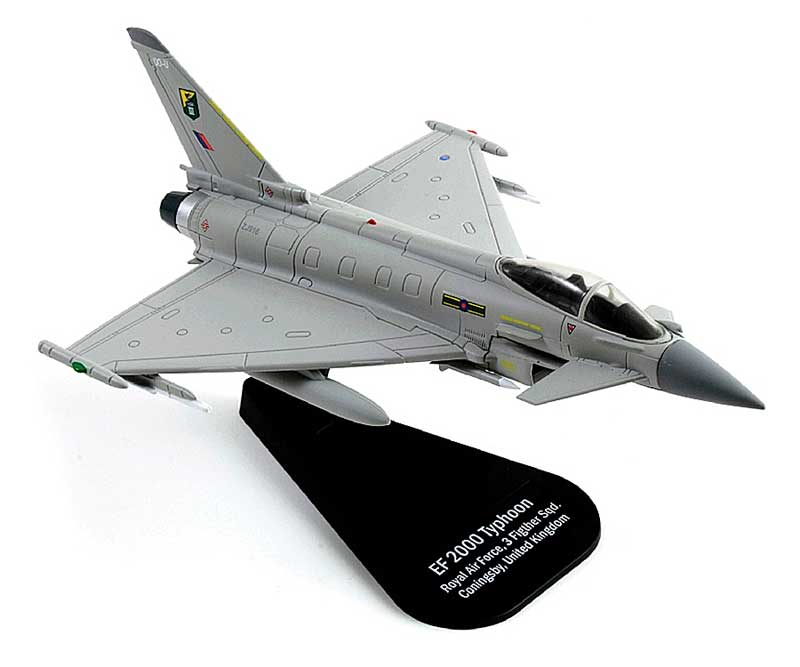 Eurofighter Typhoon, Royal Air Force, 3rd FS, Coningsby, United Kingdom (1:100)