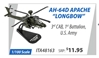 "AH-64D Apache ""Longbow"" 3rd Combat Aviation Brigade, 1st Battalion, U.S. Army (1:100)"