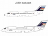 "Ansett New Zealand BAe 146-200, BAe 146-300 ""Flying Stars"" Twin Pack (1:400)"