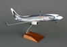 Alaska 737-800 (1:100) Salmon Thirty Salmon W/GEAR