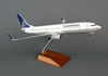 Copa 737-800 (1:100) With Gear & Wood Stand