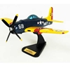 F-8F-1 Bearcat (1:24), TMC Pacific Desktop Airplane Models Item Number AF8TE