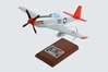 "P-51C Tuskegee ""Kitten"" signed by Charles McGee (1:24), TMC Pacific Desktop Airplane Models Item Number AP51CTSS"