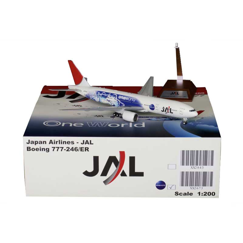JC Wings Diecast Airliners JC2JAL673:JAL Japan Airlines