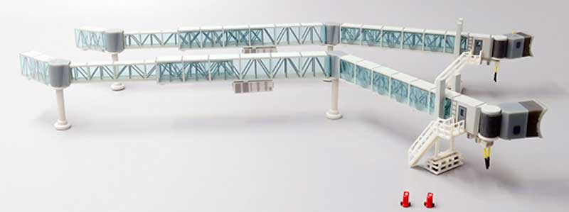 Passenger Boarding Bridge (Narrow Body x 2) (1:200) -, JC Wings Diecast Airliners, Item Number LH2BDG149