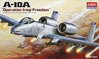 A-10a Warthog Iraqi Free (1:72), Academy Hobby Plastic Model Kits Item Number ACD12402