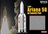 Ariane 5G w/Launch Pad (1:400), DragonWings 400 Diecast Airliners Item Number DRW56230