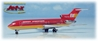 Braniff International 727-200 - Red (1:400)