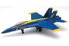 F-18, Blue Angels (1:72), Easy Build Model Kit, Easy Build Toy Airplane Models Item Number IN-EZF18
