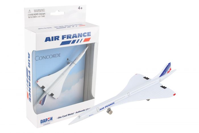 "Air France Concorde Airliner (5"") by Realtoy Diecast Toys item number: DAR98950"