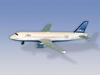 "Jet Blue Airliner (5""), Realtoy Diecast Toys Item Number RT1224"
