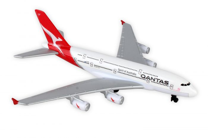 "Qantas A380 House Colors (6""), Realtoy Diecast Toys Item Number RT8538"