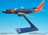 "Southwest 737-300 ""Triple Crown"" (1:200), Flight Miniatures Snap-Fit Airliners, Item Number BO-73730H-404"