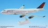 Delta (07-Cur) 747-400 (1:200), Flight Miniatures Snap-Fit Airliners, Item Number BO-74740H-019
