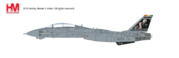 "F-14A Tomcat VF-31, ""Santa Tomcatters"", 2002 (1:72) - Preorder item, order now for future delivery"