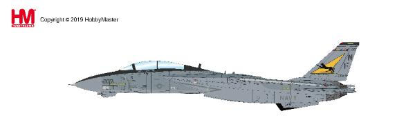 "F-14A Tomcat VF-21 ""Freelancers"", USS Independence, CVW-5, 1994 (1:72) - Preorder item, order now for future delivery, Hobby Master Diecast Airplanes, Item Number HA5225"