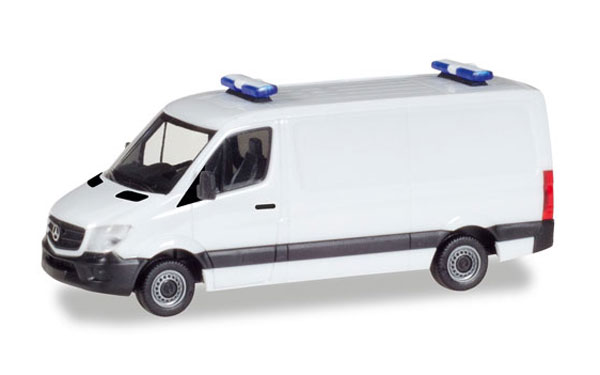 Mercedes-Benz Sprinter Box Van in White (1:87), Herpa HO Scale Models, Item Number HE013314