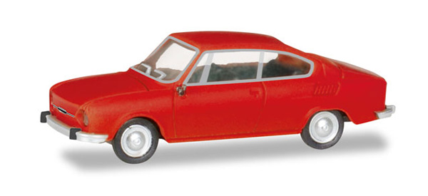 Skoda 110 R in Traffic Red (1:87), Herpa HO Scale Models, Item Number HE028875