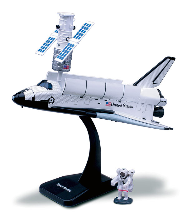 Space Adventure Space Shuttle Model Kit, NewRay Item Number NR20407-B