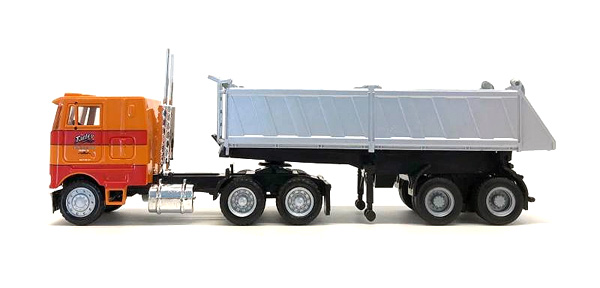 Cherokee Freight  Peterbilt COE with End Dump Trailer (1:87), Promotex, Item Number PRX006527OR