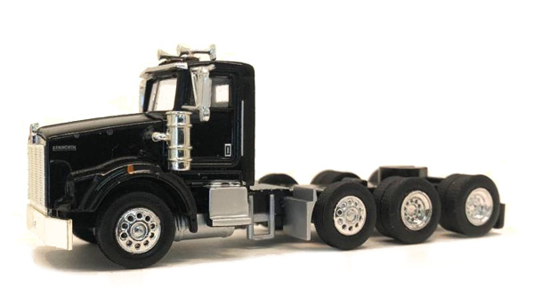 Kenworth T800 Day Cab in Black  Cab Only (1:87), Promotex, Item Number PRX006578
