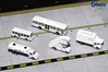 American Airlines Ground Service Equipment Trucks (1:200), GeminiJets 200 Diecast Airliners, Item Number G2AAL721