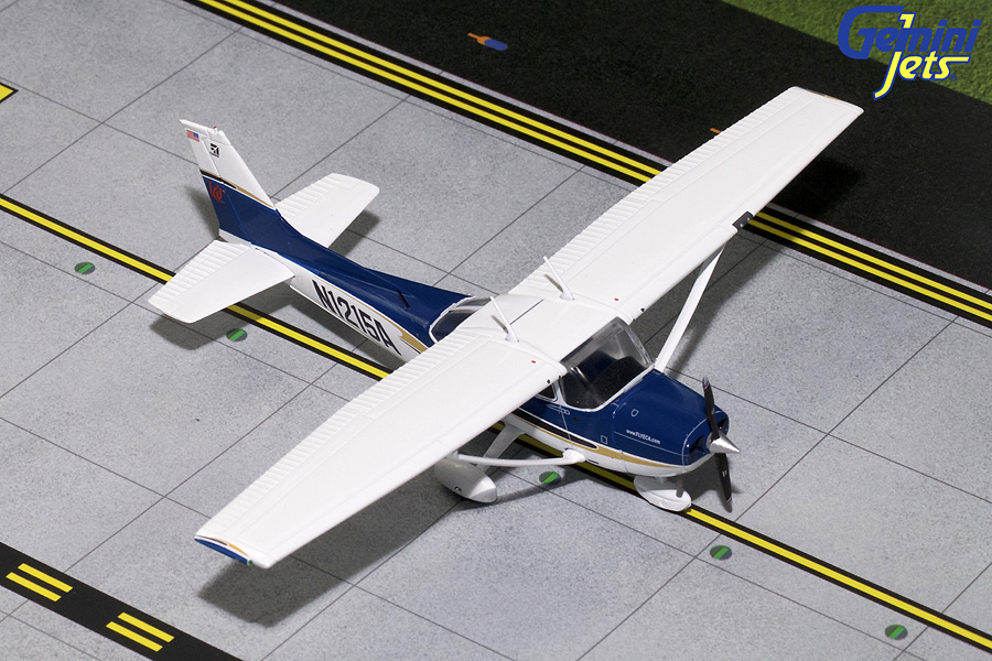 "Cessna C-172 ""Sporty's Flight School #4"" N1215A (1:72), GeminiAces 72 Diecast Fighters, GGCES007"