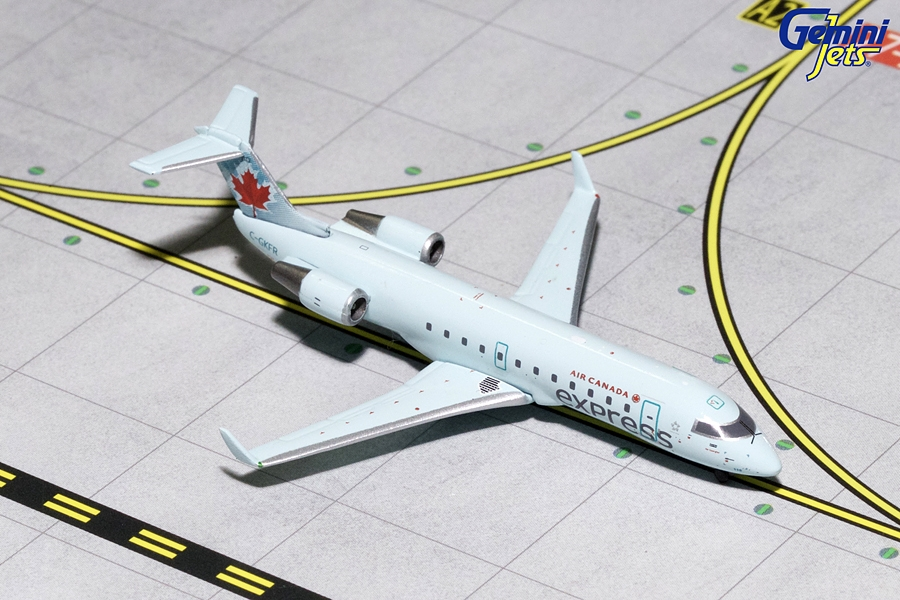 Air Canada CRJ-200 Light Blue Livery C-GKFR (1:400) - Preorder item, order now for future delivery