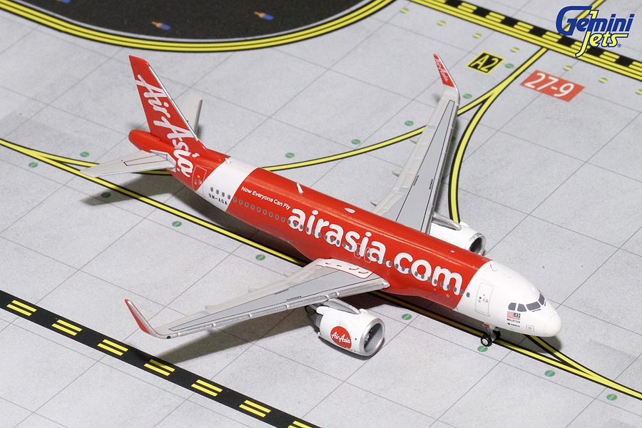 Air Asia A320neo 9M-AGA (1:400) - Preorder item, order now for future delivery