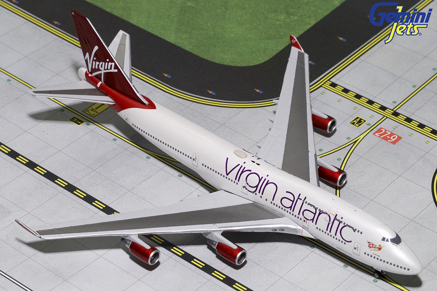 Virgin Atlantic B747-400 G-VBIG (1:400) - Preorder item, order now for future delivery