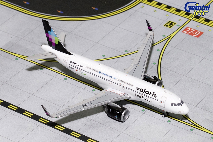 "Volaris A320neo ""Los Rivas"" N528VL (1:400) - Preorder item, order now for future delivery"