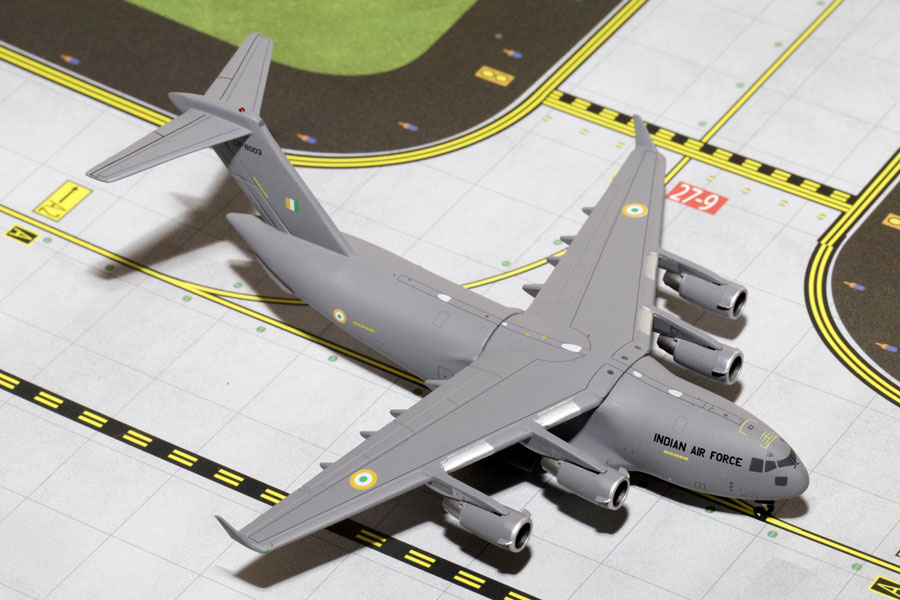 Indian Air Force C-17 Globemaster III (1:400), Gemini MACS 400 Diecast Military Planes Item Number GMINF065