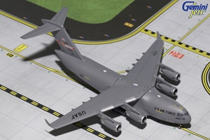 USAF Boeing C-17 Globemaster, Memphis Air National Guard, 30600 (1:400), Gemini MACS 400 Diecast Military Planes Item Number GMUSA070