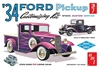 34 Ford Pickup 1:25 by AMT Plastic Model Kits item number: AMT1120