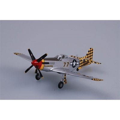 "P-51D Mustang USAAF 325th FG, 319th FS Checkertails, ""Belligerent Bets"", Italy 1945 (1:72) by EasyModel Aircraft Models"