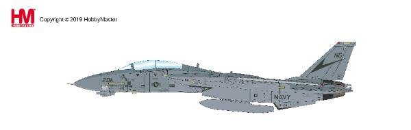 "F-14B Tomcat Die Cast Model VF-24 ""Fighting Renegades"", USS Nimitz, 1989 (1:72)"