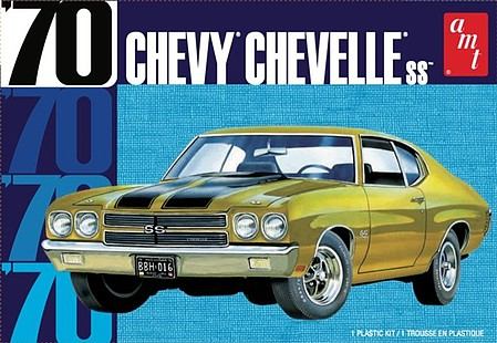 1970 Chevy Chevelle SS 2T by AMT Plastic Model Kits Item Number: AMT1143