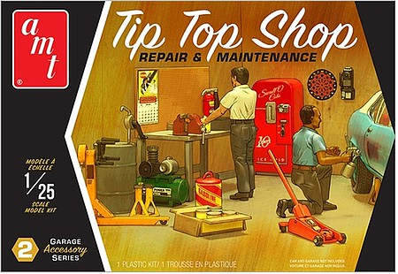 Garage Accessory Set #2 1:25 by AMT Plastic Model Kits Item Number: AMT16
