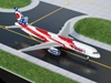 "America West B757-200 ""Ohio"" (1:400), GeminiJets 400 Diecast Airliners, Item Number GJAWE270"