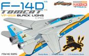 Dragon Wings Warbirds 50251 - F-14D Black Lions CAG VF-213