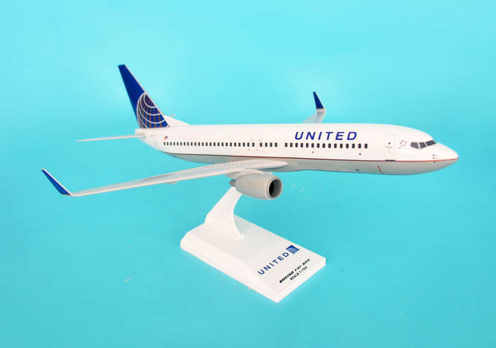 United 737-800 Post Co Merger Livery (1:130)