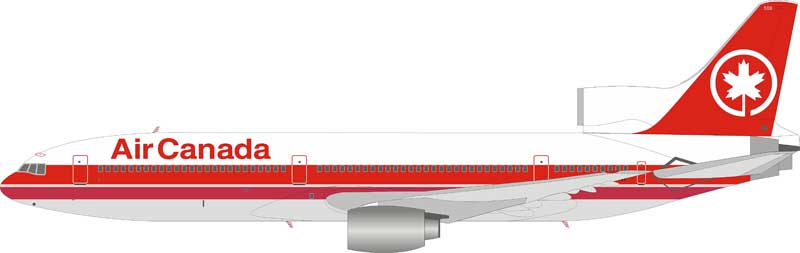 Inflight 200 Scale Diecast Airliners B L1011 Ac Ftnf Air Canada Lockheed L 1011 C Ftnf With Stand 1 200