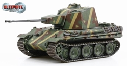 5.5cm Zwilling Flakpanzer German 1945 (1:72), Dragon Diecast Armor Item Number DRR60593
