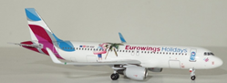 "Eurowings A320 OE-IQD ""Eurowings Holidays"" (1:400), AeroClassics Models Item Number AC19122"