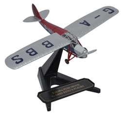 de Havilland DH.80 Puss Moth Kings Flight, G-ABBS (1:72), Oxford Diecast 1:72 Scale Models Item Number 72PM003